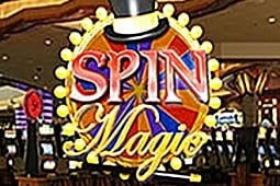 Spin magic slot logo