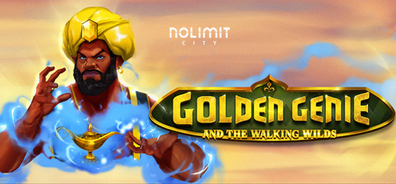 Golden Genie and the Walking Wilds Logo