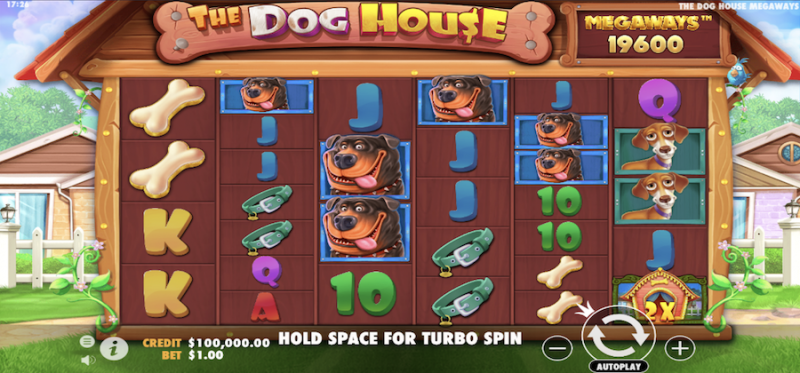 The Dog House Megaways Main Game