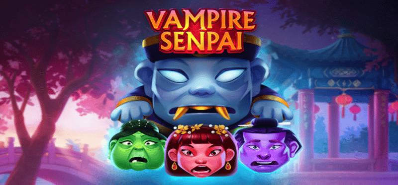 Vampire Senpai Logo