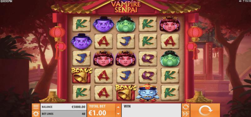 Vampire Senpai Main Game