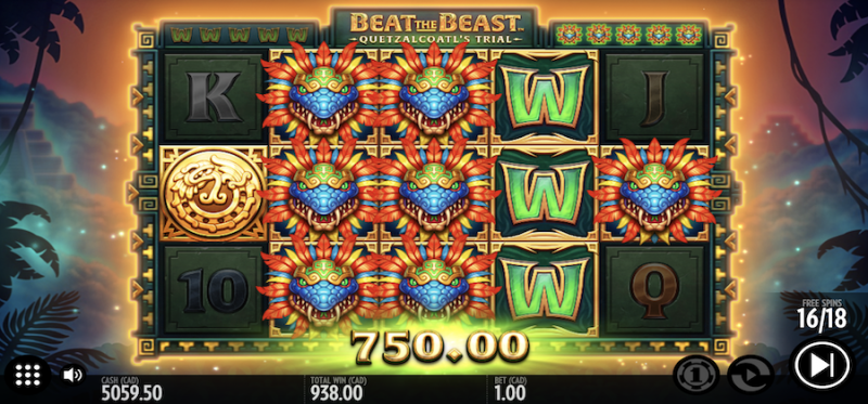 Beat the Beast: Quetzalcoatl's Trial Free Spins