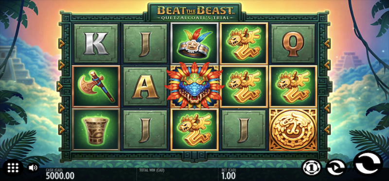 Beat the Beast: Quetzalcoatl's Trial Main Game
