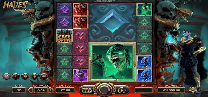 Hades Gigablox Main Game