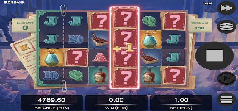 Iron Bank Mystery Symbols
