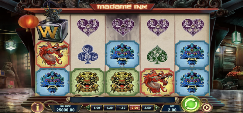 Madame Ink Main Game