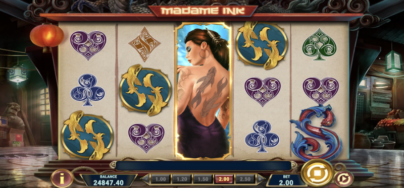 Madame Ink Random Feature