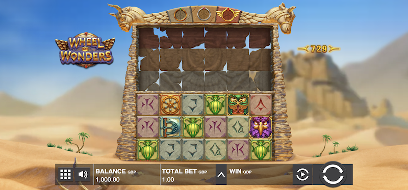 Wheel of Wonders Main Game