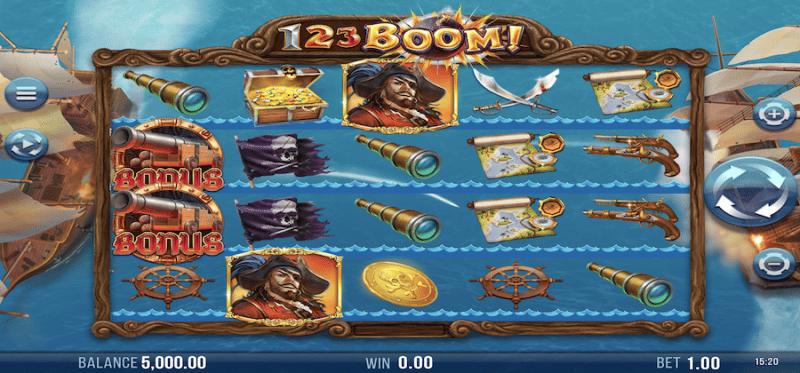 123 Boom! Main Game