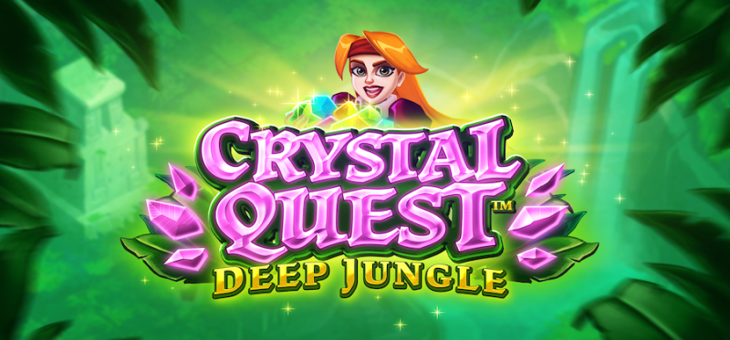 Crystal Quest: Deep Jungle Logo