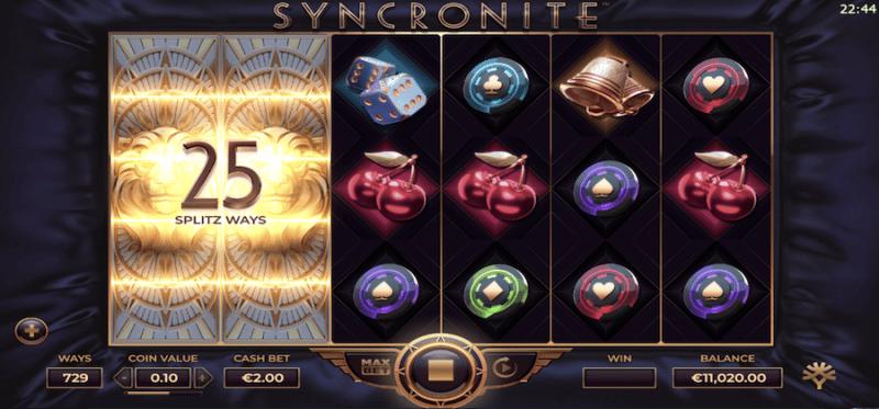 Syncronite Splitz Synced Reels - Splitz Symbols