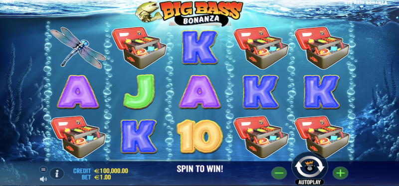 Big Bass Bonanza Base Game