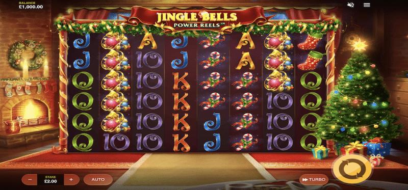 Jingle Bells Power Reels Main Game