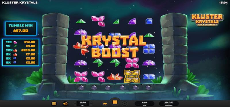 Kluster Krystals Megaclusters Krystal Boost Random Feature