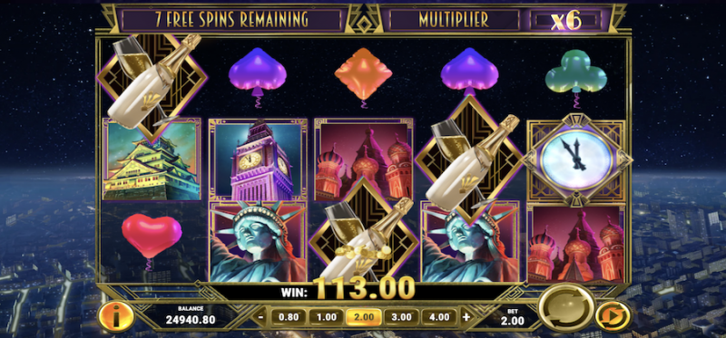 New Year Riches Free Spins