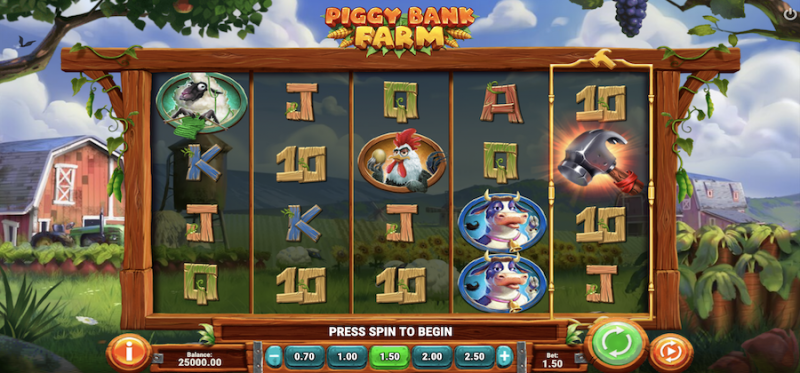 Piggy Bank Farm Main Game