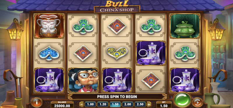 Bull in a China Shop - Main Game