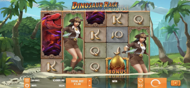 Dinosaur Rage Main Game