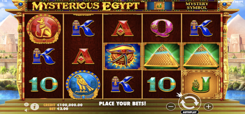 Mysterious Egypt Main Game