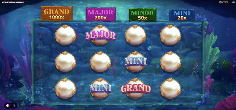Neptune's Fortune Megaways Bonus Game