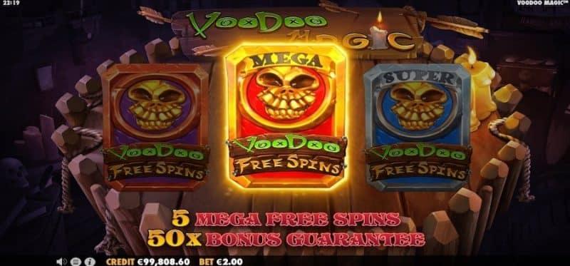 Voodoo Magic Select a Card