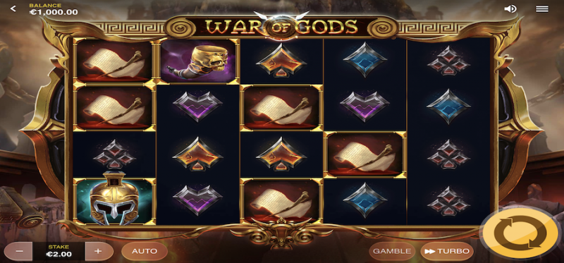 War of Gods Base Game