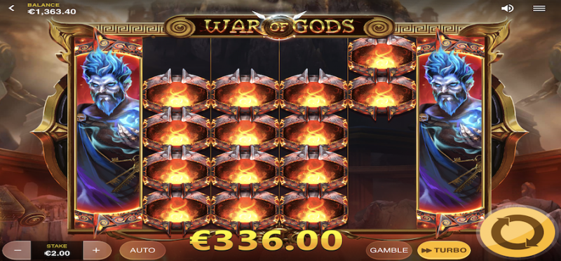 War of Gods - Hades Hellfire Feature