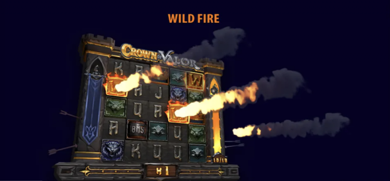 Crown of Valor Wild Fire Feature
