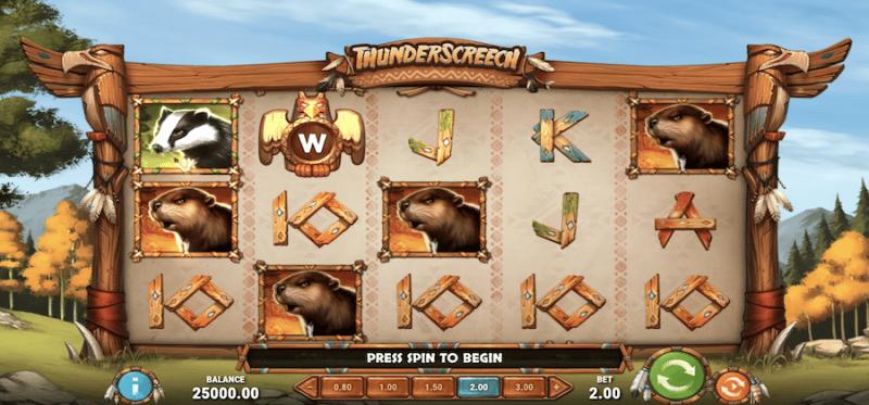 Thunder Screech Main Game