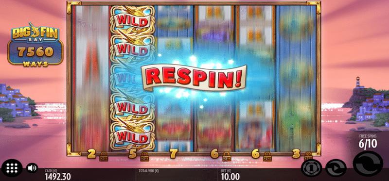 Big Win Bay - Bonus Game