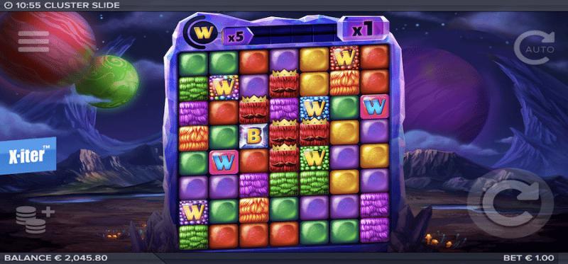 Cluster Slide Main Game