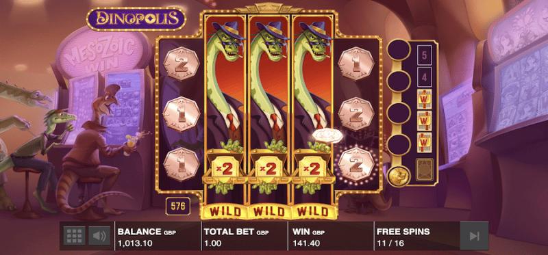 Dinopolis - Dino Bonus Feature