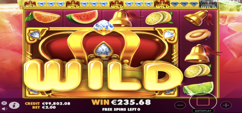 Juicy Fruits Free Spins