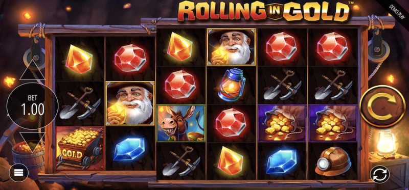 Rolling in Gold Main Game