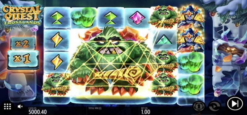 Crystal Quest: Frostlands - Massive Symbol