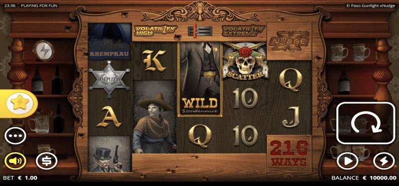 El Paso Gunfight xNudge Main Game