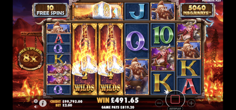 Power of Thor Megaways Free Spins