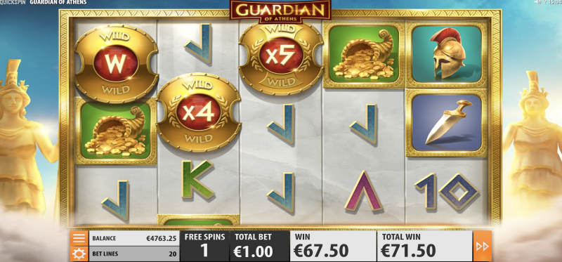 Guardian of Athens - Free Spins