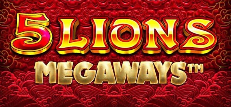 5 Lions Megaways Banner