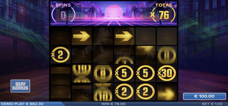 Night Trax Bonus Game