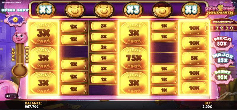 Piggy Rich Cash Respins