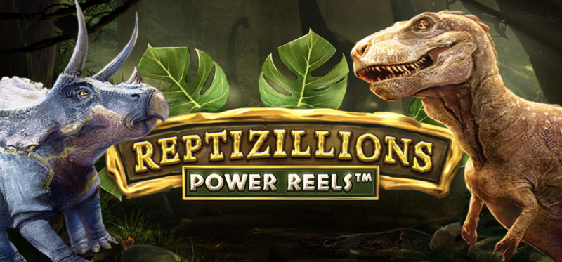 Reptizillions Power Reels Banner