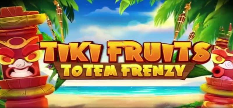 Tiki Fruits Totem Frenzy Banner