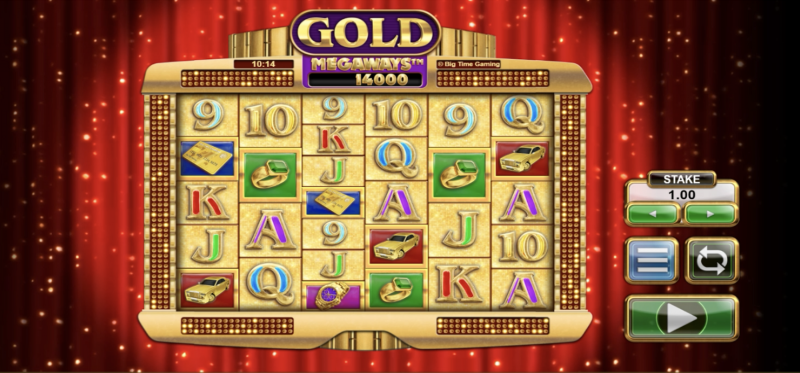 Gold Megaways Base Game