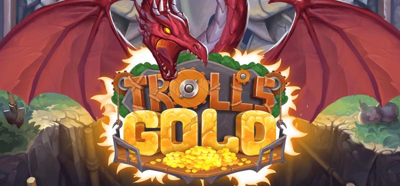 Trolls Gold Banner