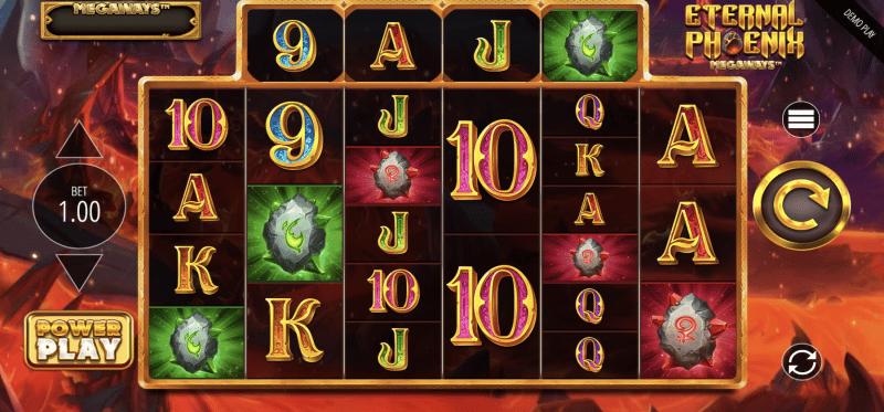 Eternal Phoenix Megaways Main Game