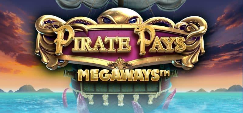 Pirate Pays Megaways Banner