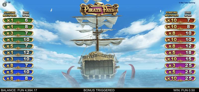 Kraken Bonus Round