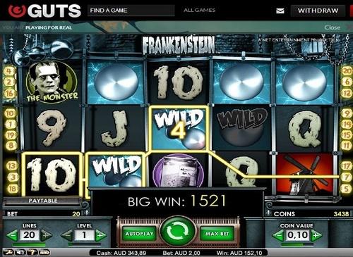 Max bet big win on frankenstein betdaq mobile betting sportsbook